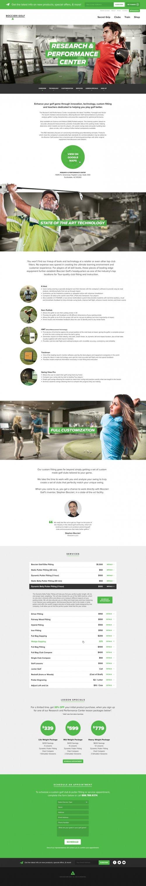 Website - Research & Performance Center