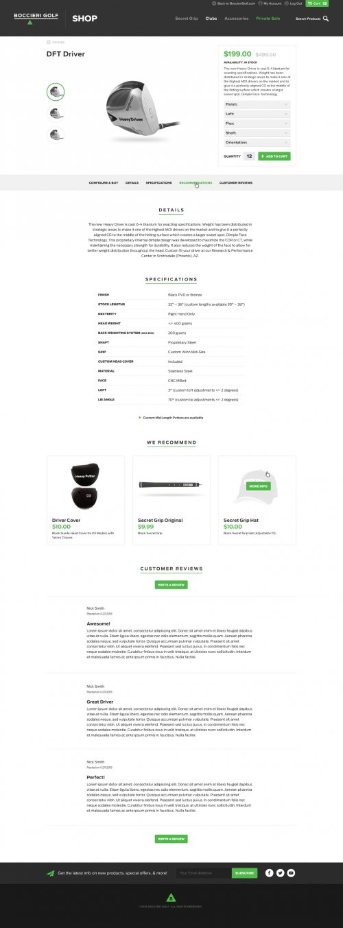Website - Store - Product