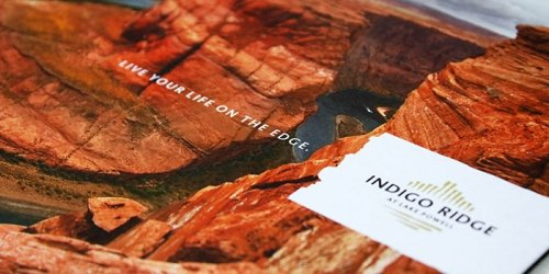Indigo Ridge - Logo, Collateral Design
