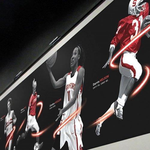 Stanford University - Mural Design