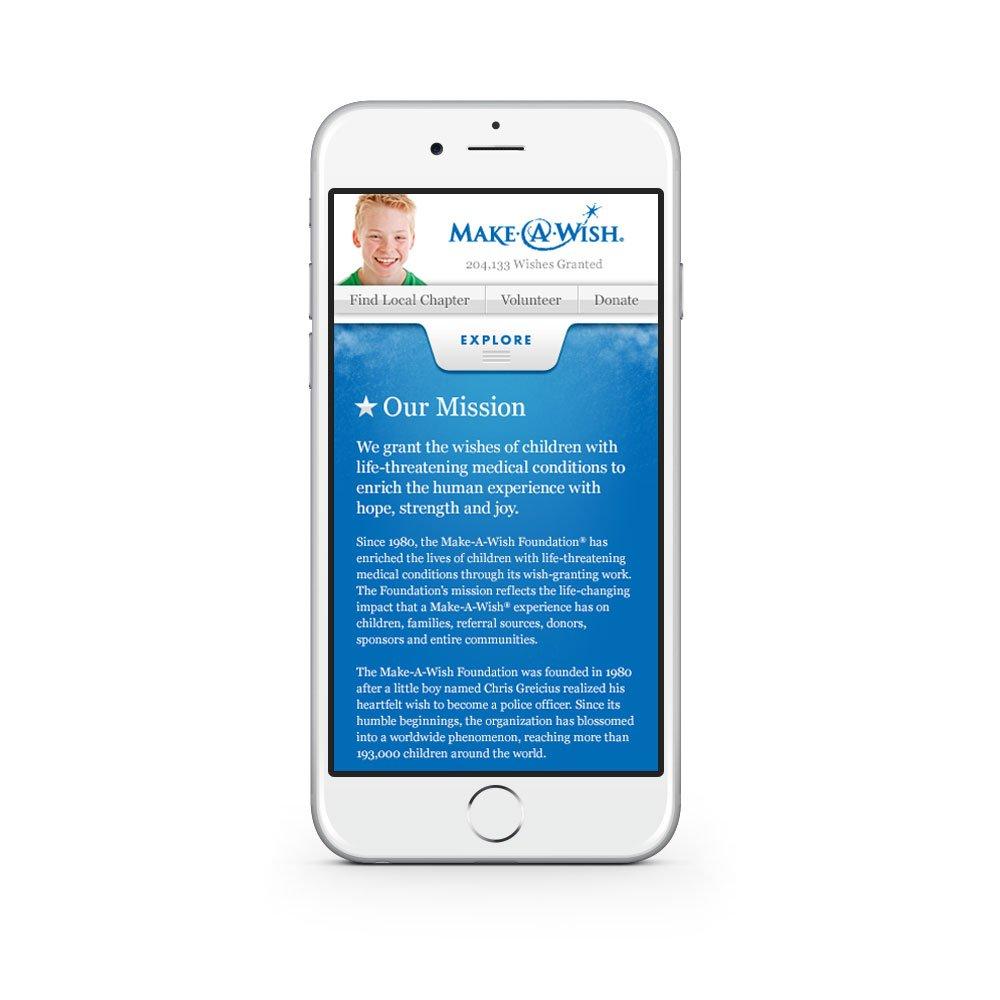 Website - Mobile - Mission