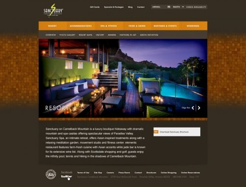 Website - Resort