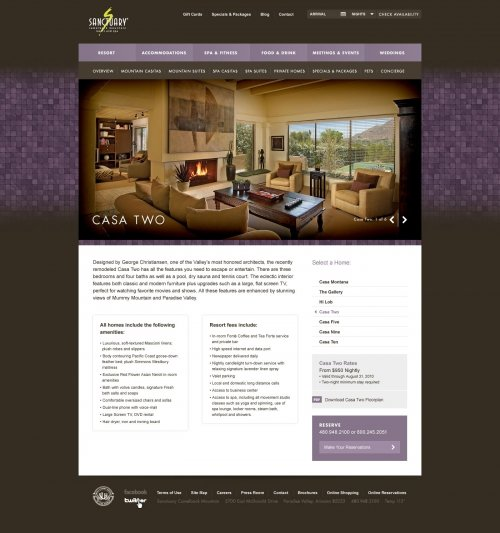 Website - Casa Two