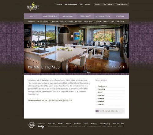 Website - Private Homes