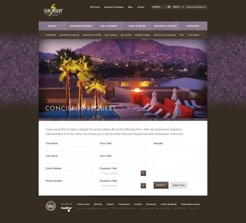 Website - Concierge