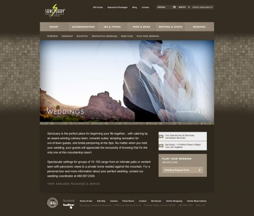 Website - Weddings