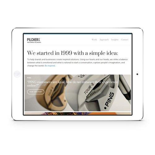 Website - Tablet - Home