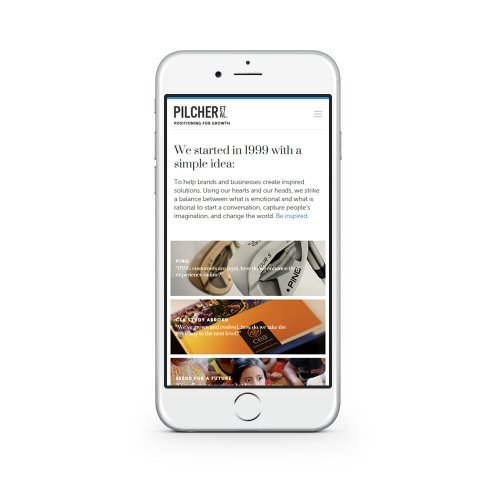 Website - Mobile - Home